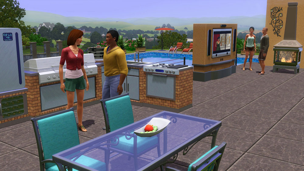 The Sims 3: Outdoor Living Stuff